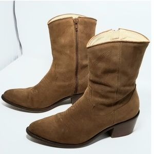 Urban outfitters Suede boots Sz 7/38 Brown